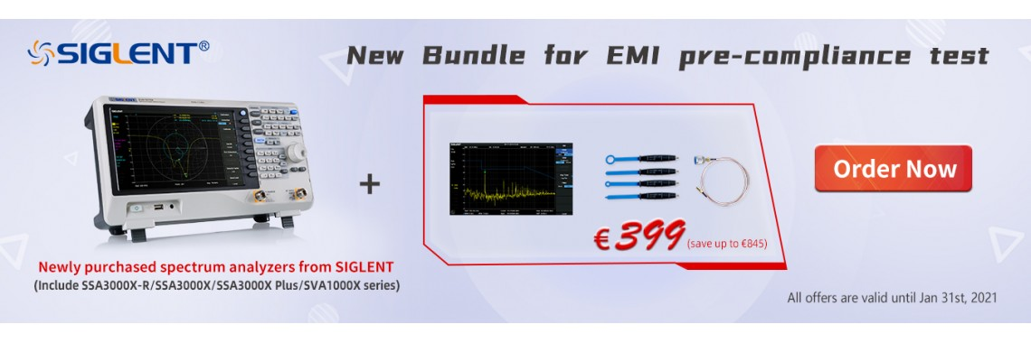 Spectrum Analyzer EMI Test KIT Bundle