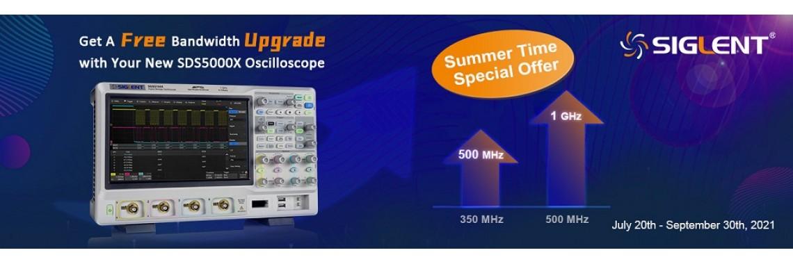SDS5000X Promotion
