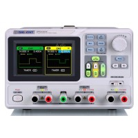 SPD3303X 3 Channels programmable DC power Supply 4.3 inches TFT with resolution 1mV/1mA